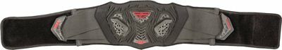Fly Racing Youth Flight Kidney Protection Belt Black Red