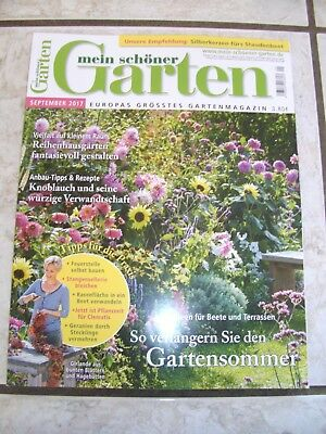 zeitschrift wohnen und garten september 2017 eur 1 00 picclick de. Black Bedroom Furniture Sets. Home Design Ideas