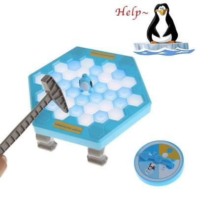 Hammer Ice Save the Penguin Break Ice Block Trap Family Kids Fun Board Game Toy