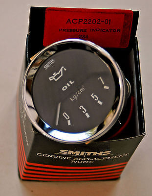 Smiths new Classic style Electric Oil Pressure Gauge 0-7kg