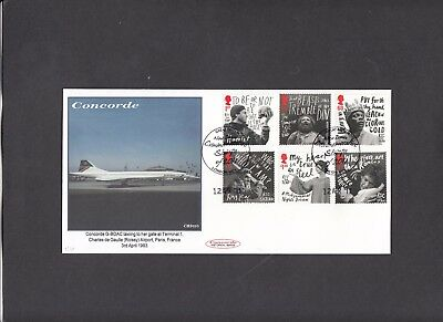 2011 William Shakespeare Concorde Cambridge S.C. Official FDC. 1 of 10 covers