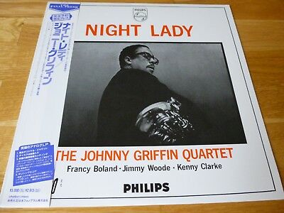 """Johnny Griffin """" Night Lady """" LP ( Phillips 840 447) Japan -Mint"""