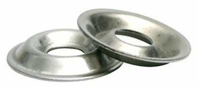 Stainless Steel Flange Cup Finishing Washer # 10, Qty -100