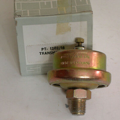 New Smiths Oil Pressure gauge sender unit Early Landrover(PT1206/16)