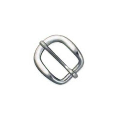 """5/8"""" Strap Buckle (Solid Steel) - Tandy Leather #1529-02"""