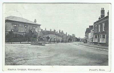 1906 Postcard Castle Street Thornbury Gloucestershire published by A Prewett