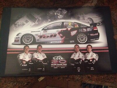 1990-2010 Original Holden Racing Team 20th Anniversary BATHURST POSTER