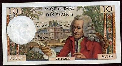 France 10 Francs 1965 Note   !!!!!  Xf