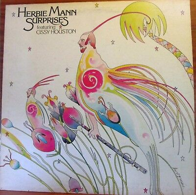 Lp -  Herbie Mann Featuring Cissy Houston  =  Surprises   (Made In Italy)