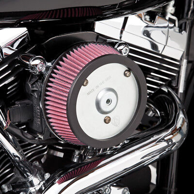 Arlen Ness Big Sucker Stage I Air Filter Kit Chrome For Harley FXD FXDWG
