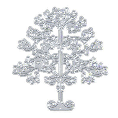 DIY Cutting Die Stencil Scrapbook Album Paper Card Embossing Dies Craft-Tree