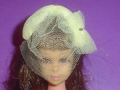 Vintage Barbie Doll #987 Orange Blossom 1961-64 Yellow Tulle Hat Vhtf Old Toy