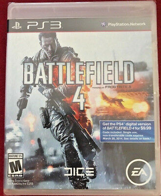 Battlefield 4 (Sony PlayStation 3, 2013) PS3 GAME BRAND NEW & SEALED!!!