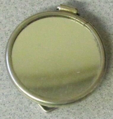 Vintage POCKET PURSE CAR AUTO MIRROR with stand clasp