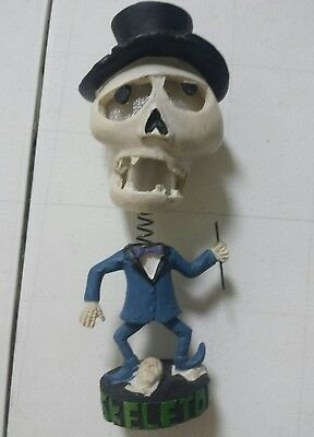 Halloween Light Up Dancing Skeleton  Bobblehead
