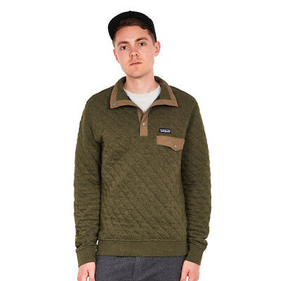 Patagonia - Cotton Quilt Snap-T Pullover Industrial Green Rundhals