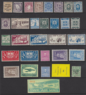 Uncle Shelby's Really Old Stamps Lot #54309 -- Irish Free State Used