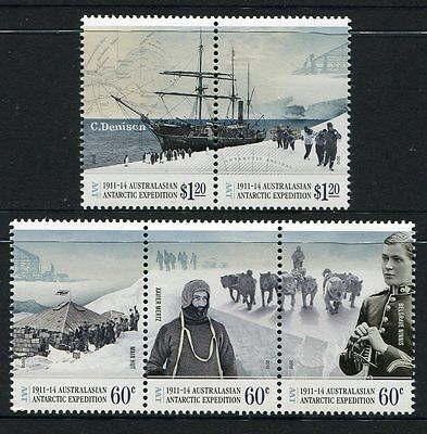 2012 AAT Antarctic Expedition! Arrival & Exploration - MUH Complete Set