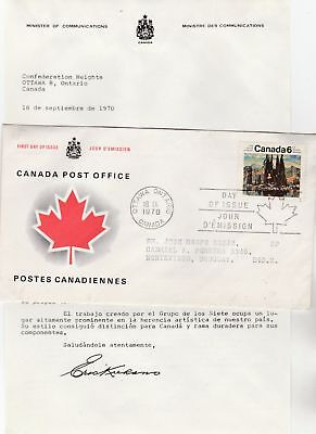 Canada to Uruguay 6c Group of Seven REPLACEMENT FIRST DAY COVER Contents 1970