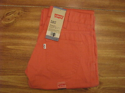 Levi's 505 Straight Youth/Child Size 12 Regular (26x26) New Kids Jeans/Pants