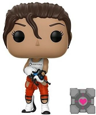 Portal - Chell with Portal Gun Funko Pop! Games: Toy