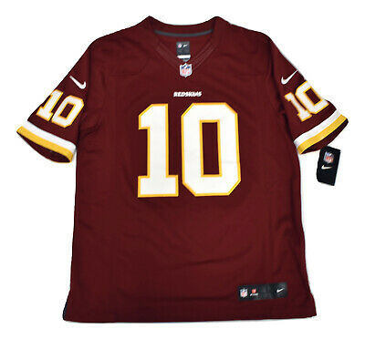 the latest c4a12 59f6d NIKE NFL MENS Washington Redskins Robert Griffin III Sewn Jersey NWT $150 L