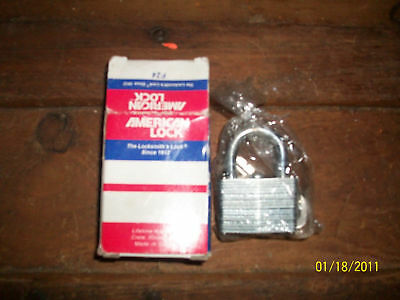"American Padlock  1 1/2"" Wide  New In Box"