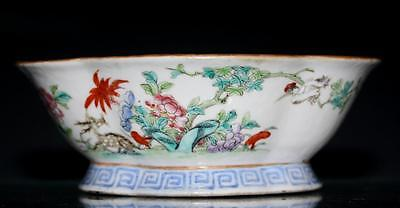Chinese Antique  Porcelain Bowl.19Th C