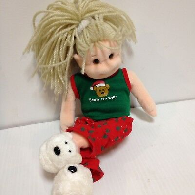 Ty Beanie Boppers Jolly Janie Toy/collectible Retired Christmas Doll