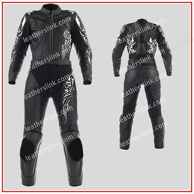 Women Biker Motorcycle Motorbike Racing Leather Ladies Suit MST-186(USA18,20,22)