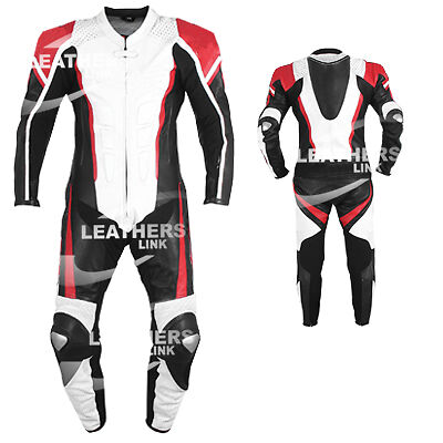 Leather Men Motorbike Motorcycle Racing biker Leather Suit MST-95(US 38,40,42 )