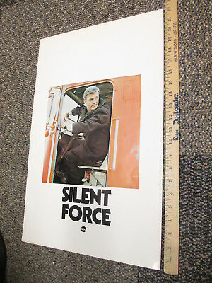 ABC 1970 TV show photo industry promo poster SILENT FORCE Ed Nelson Lynda Day