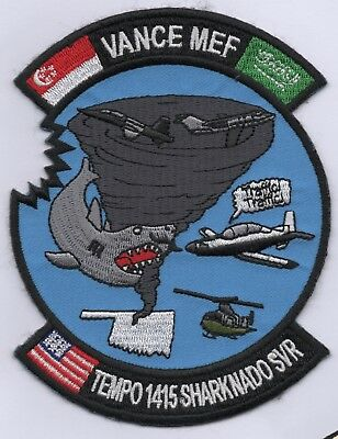 US Air Force 71st Flying Training Wing, Course 14-15 patch, Singapore,Saudi