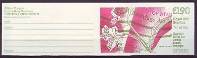 Qe Ii Gb 1988 Pocket Planner Marriage Booklet Fv1  £1.90  Mnh Low Shipping