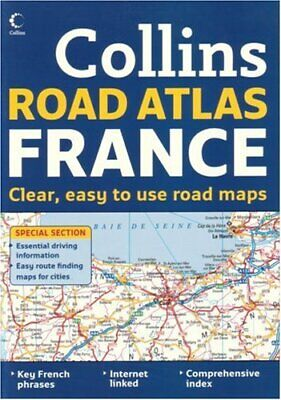 International Road Atlases - Collins Road Atlas France by Collins Paperback The