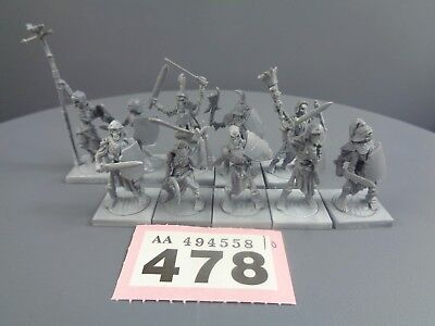 Warhammer Age of Sigmar Vampire Counts Skeleton Warriors Mantic Kings Of War 478