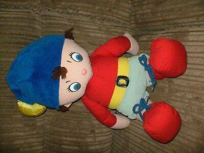 LOVELY SOFT TOY  OF NODDY IS 18ins TALL FROM THE GOLDEN BEAR CO.1990.