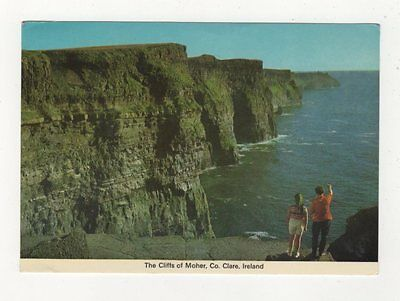 The Cliffs Of Moher Co Clare Ireland Postcard 873a