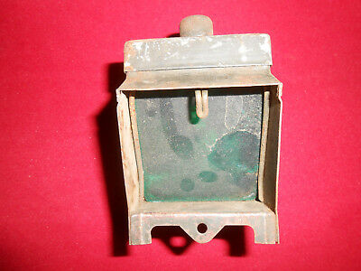 G.BRITAIN : WWII Military Black Out battery Lantern   Nice