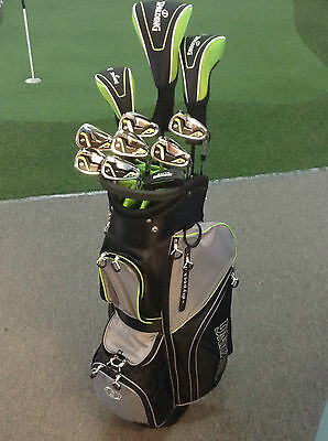 SPALDING ELITE Deluxe Golf Pkg inc 14 Hole Cart Bag, Putter & Covers