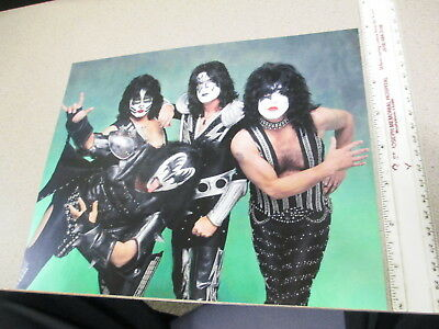 KISS rock band Gene Simmons Ace Frehley Paul Stanley Peter Criss makeup YEAR?