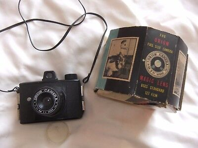 """The Orion Full Size Camera. Made For """"reddish Maid"""" Confectionery Works. Boxed"""