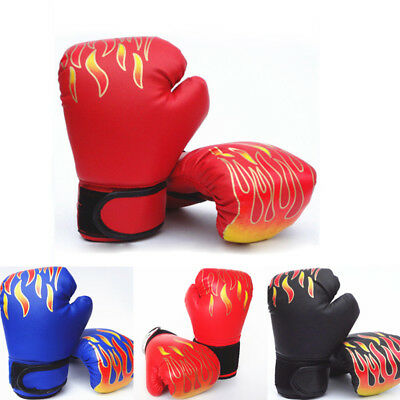 Boxhandschuhe Kampf Tasche MMA Muay Thai Pad Sparring training Alter 7-12 Jahre