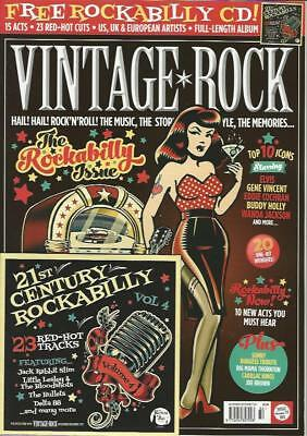 VINTAGE ROCK - No.32 / N-December 2017 (NEW) *Post included to Europe/USA/Canada