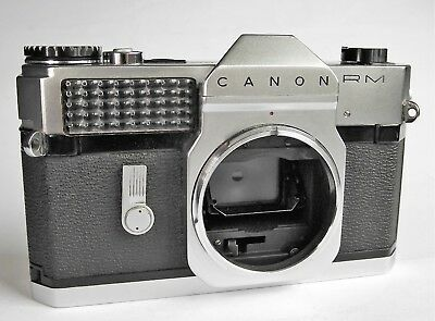 Lovely quality CANONFLEX RM in nice full working order...body only.