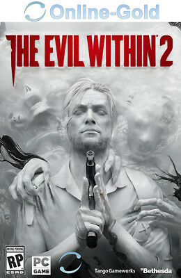 The Evil Within 2 II Key - Steam Download Code PC Standard Edition - EU/DE