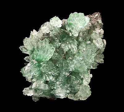 Apophyllite Green Crystal On Matrix # 1894