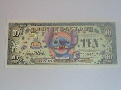 2005 $10 Stitch  - T Series with No Bar Code