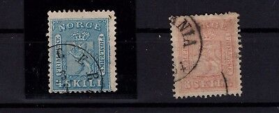 P44030 / Norvege / Norway / Sg # 17 - 21 Obl / Used 171 €