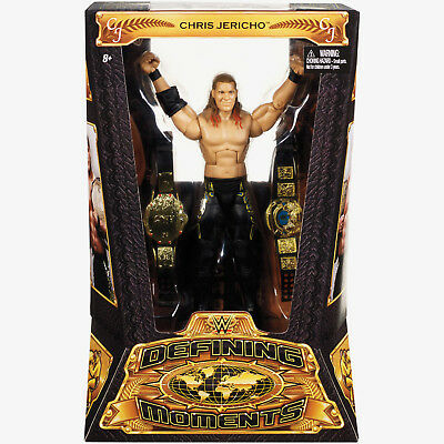 Wwe Wwf Mattel Defining Moments Y2J Chris Jericho Wrestling Action Figure New!!!